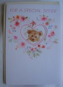 Vintage Hallmark Retired Mary Hamilton Glitter Teddy Bear Greeting Card w enV | eBay