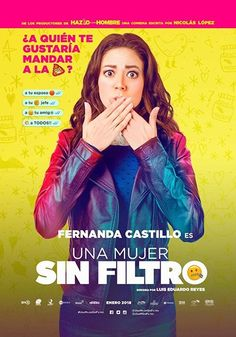 Watch Una Mujer Sin Filtro DVD and Movie Online Streaming Imdb Movies, 2018 Movies, New Movies, Movies To Watch, Movies Free, Streaming Hd, Streaming Movies, Forever My Girl, Be With You Movie