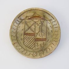 Museum Boijmans Van Beuningen, Rotterdam Dating: 1475-1525 Material: Sgraffito earthenware and champlevé Excavation: Edam, Netherlands Place of origin: Netherlands Decoration/Inscription: Coat of Arms, Bird http://www.sgraffito-in-3d.com/en/collection/item/f_9480