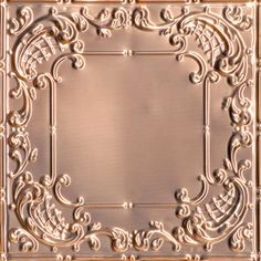 queen anne lace copper ceiling tile