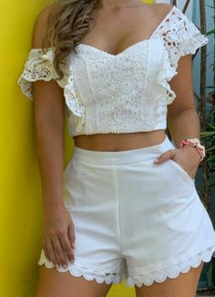 Short Outfits, Summer Outfits, Stylish Dresses For Girls, Chor, Pretty Dresses, Casual Looks, Ideias Fashion, Fashion Dresses, Clothes