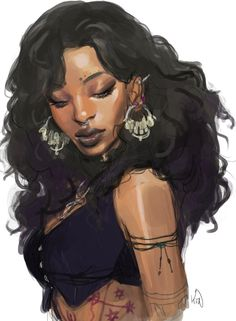 new character time? Sabine Lavolier, probably like the great-great-granddaughter of Serafine. new character time? Sabine Lavolier, probably like the great-great-granddaughter of Serafine. Black Girl Art, Black Women Art, Art Girl, Character Portraits, Character Art, Female Character Design, Baby Draw, Drawn Art, Afro Art