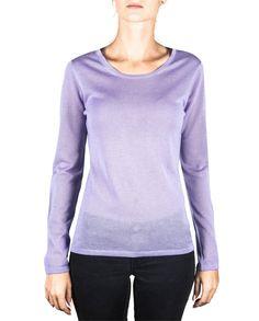 Damen Kaschmir Pullover Rundhals viola front Sweatshirts, Sweaters, Fashion, Cashmere Sweaters, Summer, Women's, Moda, Fashion Styles, Sweater