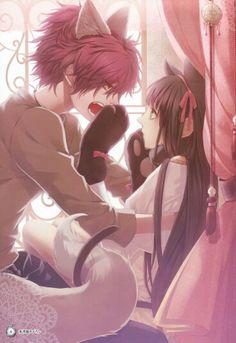 Adorable Anime Couple