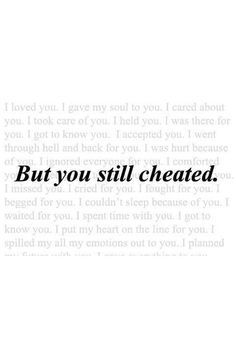When you find out your significant other has been unfaithful, the realization can be earth-shattering. Knowing that your trust and...
