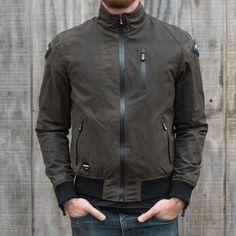 Blauer Indirect Textile Jacket - Olive