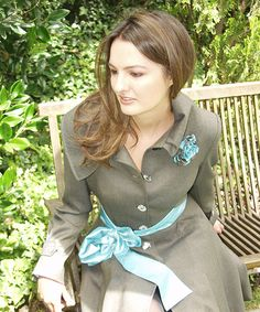 Elena Urrutia #tonodecafes #azul #combinacionperfecta #mujer #glamour #invierno #calido #abrigo