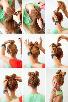 8 DIY Bow Hairstyle Tutorials