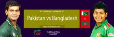 No one from the Pakistan and Bangladesh cricket fans can forget the most recent contest between Pakistan and Bangladesh where Bangladesh almost took wining results of Asia Cup ODI.. Today, the opponents are same but they are face to face in a different cricket format that is the shortest t20 cricket. Pakistan and Bangladesh once again are face to face in the most exciting match of the T20 World Cup 2014. Watch Pakistan vs Bangladesh live streaming and live scorecard with a descriptive…