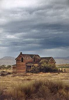 Elgin, Utah. We can go explore ghost Towns! It's fun, creepy fun!