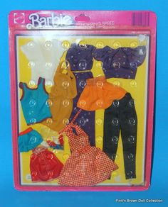 "1975 MOD Barbie Collectible Fashion Pack/Best Buy ""SHOPPING SPREE"" #3807 NRFP"