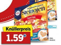 """Lidl: Wagner-Pizza für 1,59 Euro, mit Freundschaftswochen kombinierbar https://www.discountfan.de/artikel/essen_und_trinken/lidl-wagner-pizza-fuer-1-59-euro-mit-freundschaftswochen-kombinierbar.php Bei Lidl gibt es in der kommenden Woche Tiefkühlpizzen und -Flammkuchen von Wagner zum Aktionspreis von 1,59 Euro. Die Aktion ist mit den aktuellen """"Wagner Freundschaftswochen"""" kombinierbar, sodass sich Discountfans Prämien wie einen Einkaufsgutschein über 20 Euro"""