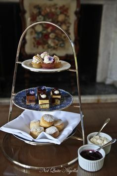 High tea at Chateau Yering