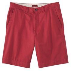 Merona® Mens Flat Front Twill Chino Shorts at Target