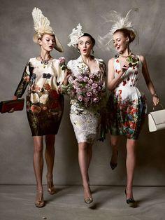 "editorial | Kristian Schuller's ""Racy Ladies"", for Tatler UK May 2011."