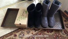 Boot Tray #Everything #DoorMats #boottray #snow #rain #cleanfloors