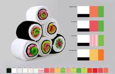 These Kitchen Towels Become Sushi Rolls When Properly  Mein Blog: Alles rund um Genuss & Geschmack  Kochen Backen Braten Vorspeisen Mains & Desserts!
