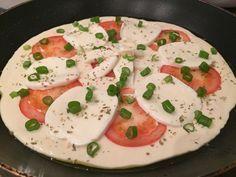 Rychlá ,,pizza,, na pánvičce za 15 minut | NejRecept.cz