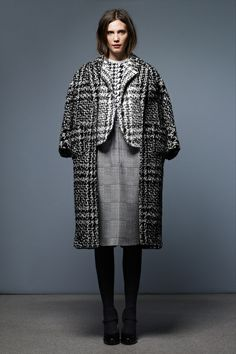Look 9 Thom Browne Pre-Fall 2013 #houndstooth