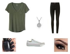 Untitled #9 by baileylea03 on Polyvore featuring polyvore, fashion, style, Gap, J Brand, Converse, OPI and clothing