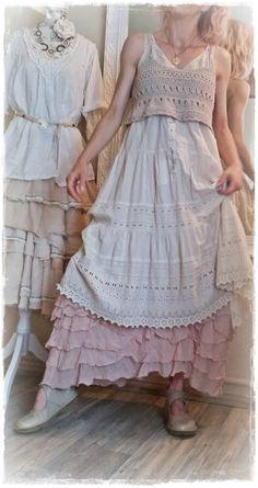 Robe Magnolia Pearl, Jupon Privatsachen, Brassière crochet