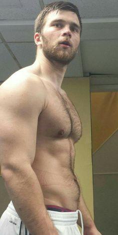 Locker Gay hairy naked room men