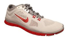 $100 - New Nike Women's Free 5.0 TR Fit 4 Team Cross Trainer White/Sport Red 6 #shoes #nike #2014
