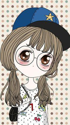 รูปภาพ art, drawing, and art girl