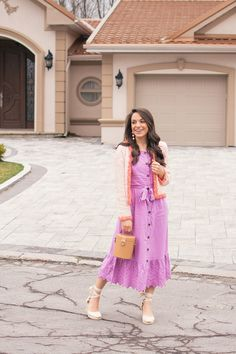 What I Wore This Easter | The Pink Brunette
