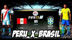 Fifa 17 Peru X Brasil Eliminatórias Copa do Mundo Rússia 2018 │MODO LEND...