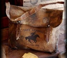 Pony express bag
