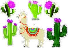 Banner Doodle, Llama Decor, Cactus Cake, Diy And Crafts, Arts And Crafts, Photo Booth, Party Time, Cake Toppers, Free Printables