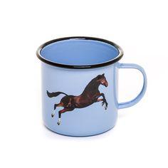 Seletti Wears Toiletpaper Enamel Metal Mug – Our Gallery Store Modern Dinnerware, Horse Shirt, Pastel, Vintage Horse, Paper Houses, Commercial Photography, Metallica, Ferrari, Horses