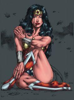 Wonder Woman // artwork by Marcio Abreu and Karen Amorin (2011)