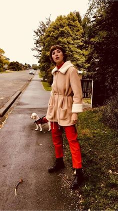 Aldous Harding wears Turnaround Pant by Kowtow. Editorial Fashion, Muse, Organic Cotton, Beautiful People, Hipster, Celebs, Chic, Lady, Persona
