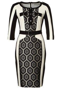 Stijlvol en klassiek zwart/wit jurkje van Karen Millen @ Zalando