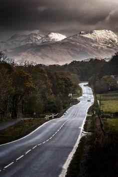 The road to the isles, Glencoe   Scotland