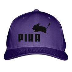 Pika By Puma Embroidered Baseball Cap