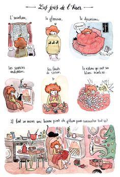 Work of French Illustrator, Anne Montel. http://ahurie.blogspot.com/