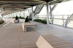 Galeria de Passarela de Pedestres Tabiat / Diba Tensile Architecture - 16