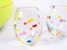 use enamel paints for glass and bake at 350 for 30 min....although one pinner said to use acrylic paint.