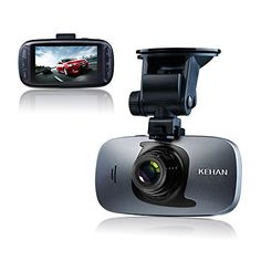 KEHAN C819N 27 DVR Full HD 1920x1080 Car Dash Camera With GPS Novatek 96650 Chip SONY IMX323 Sensor With HDR GSENSOR SOS Button ** Read more at the image link.