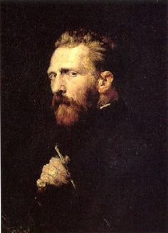Portrait of Vincent van Gogh, John Peter Russel, oil on canvas, 60.0 x 45 cm, 1886, Van Gogh Museum, Amsterdam, Netherlands