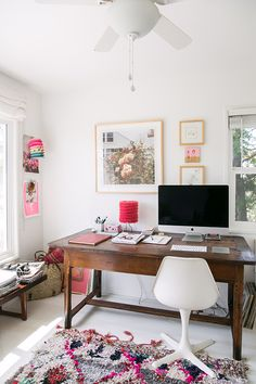 Home Office /@sfgirlbybay Home Office Design, Home Office Decor, Home  Office Space