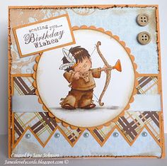 Love this cute Nellie Snellen stamp. Birthday Wishes, Birthday Cards, Western Theme, Copic Markers, Distress Ink, Kids Cards, Cardmaking, Cross Stitch, Paper Crafts