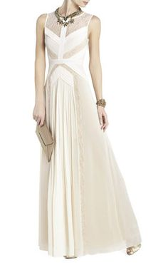 Avi Pleated Gown   BCBG  This pic doesn't do it justice but it is stunning! Jess have you checked out BCBG?