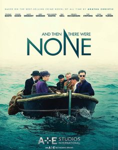 """Aidan Turner stars as Philip Lombard in A&E Studio's adaptation of Agatha Christie's """"And Then There Were None. Agatha Christie, Josh Charles, Oliver Jackson Cohen, Beau Film, Toby Stephens, Douglas Booth, Henry Thomas, Ripper Street, Ralph Macchio"""