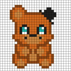 Freddy_Plushie by KandiFireFox on Kandi Patterns