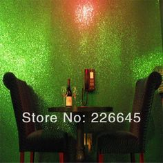 Free Shipping High Grade Glitter Living Room Decoration Wallpaper In Colorful(Red, Silver,Black,White,Green,Pink ,Gray Various)-in Wallpaper...