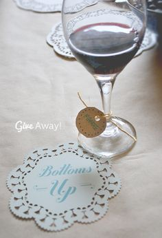 More Design Please - MoreDesignPlease - Wine-Tasting Party Printables +Give-Away